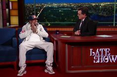 Allen Iverson Visits 'The Late Show' to Discuss the Beating He Took for Today's…