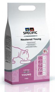 Pienso Specific FND Neutered young para gatos esterilizados. Pienso para gatos / Comida para gatos: Pienso Specific FND Neutered young para gatos esterilizados. Indicado para gatos esterilizados de todas las razas y tamaños. En Petclic ahorras mas de un 35% en todas tus compras de piensos y alimentación para gatos. Todas las garantías. Toda la seguridad que necesitas y mas de 5.000 productos de alimentación rebajados. www.petclic.es