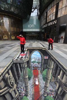 Mind Blowing 3D Sidewalk art! - Likes