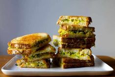 Zucchini Grilled Cheese from Smitten Kitchen. Just in time for prime picnic season, a melty summer sandwich that wants to go everywhere with you. Kimchi, Easy Zucchini Recipes, Cooking Zucchini, Grilled Zucchini, Zucchini Cheese, Zucchini Squash, Cheese Food, Cooking Fish, Vegan Cheese