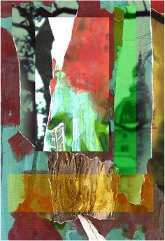 Espiritualidad Contemporánea:    MICROCOSMOS  collage de José Vega poema de Moni Indiveri de Vega