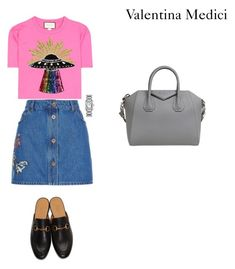 """""""classy meeting"""" by valentinamedici on Polyvore featuring moda, Gucci, Valentino, Givenchy e Cartier"""