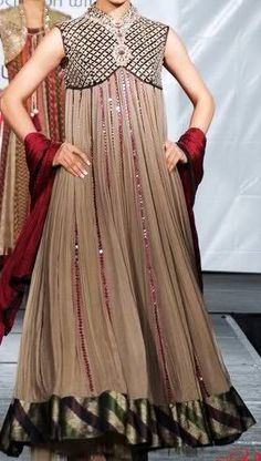 The Stylish Long Frocks Collection For Pakistani Ladies