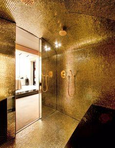 Mosaico foglia oro AUREO - Trend Group