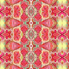 Art Nouveau Victorian Style fabric by edsel2084 on Spoonflower - custom fabric