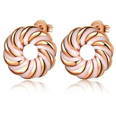 Virgin Shine Gold Plated Rotary Circle Earrings Brown VIRGIN SHINE http://www.amazon.com/dp/B00EH9L1QW/ref=cm_sw_r_pi_dp_lumzub1TVXDRW