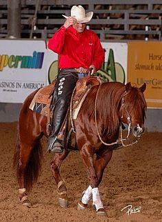 chestnut - Quarter Horse stallion Topsails Rien Maker