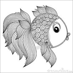 Fish Pattern Coloring Pages Stock Photos, Images, & Pictures – (36 Images)