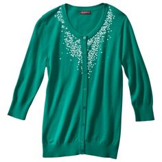 Merona® Women's Sequined Artist Cardigan Sweater - Assorted Colors.Opens in a new window