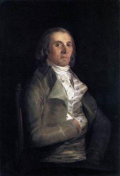 Гойя. Портрет Andrés del Peral.