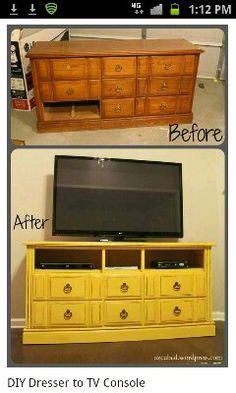 Old dresser idea