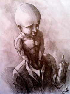 pencil on paper Tattoo Artists, Artworks, Pencil, Statue, Paper, Sculptures, Art Pieces, Sculpture