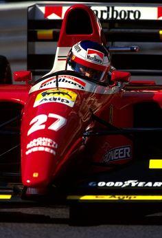 Jean Alesi in Monaco Sports Car Racing, F1 Racing, Drag Racing, Race Cars, Grand Prix, Le Mans, Monaco, Ferrari Racing, Gilles Villeneuve