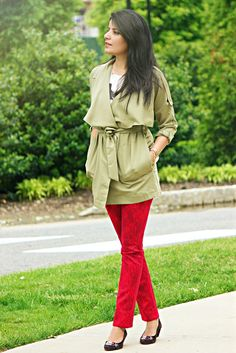 Style-Delights: In The Trenches: Layering For Transitional Weather