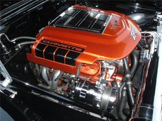 LS9 supercharged ZR1 motor with 725hp.