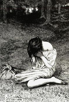 """Folk & Fairy Tales"" by Peter Christen Asbjørnsen, Trans. Illustrations, Illustration Art, Haruki Murakami Books, Modern Novel, East Of The Sun, Roman Era, Tv Tropes, South Of The Border, The Power Of Love"