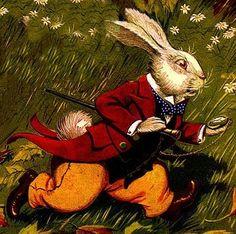 Alice in Wonderland Illustration, Milo Winter, 1916