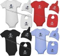 Marela - 3dílný set - pirát | Originální těhotenská móda Rock, Baby, Skirt, Locks, The Rock, Rock Music, Baby Humor, Infant, Babies