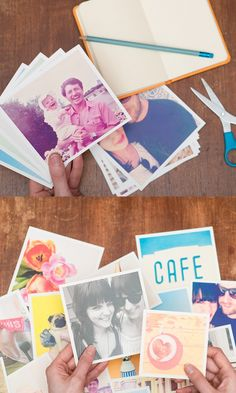 These cool square prints can be made with photos from your Instagram, camera-roll or desktop. Free delivery worldwide.
