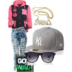 Here is Swag Girls Outfit Ideas for you. Swag Girls Outfit urban swag outfit for girls for winter on stylevore. Tomboy Swag, Tomboy Outfits, Casual Fall Outfits, Dope Outfits, School Outfits, Tomboy Clothes, Girly Outfits, Winter Outfits, Outfits Teenager Mädchen