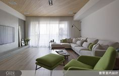 Minimalist Apartment Design With Asian Style Decoration - A modern asian minimalistic apartment