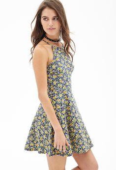 Garden Girl Skater Dress #SummerForever