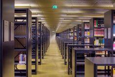 eck & reiter architekten-Universitäts- und Landesbibliothek Innsbruck, Divider, Room, Furniture, Home Decor, Architects, Life, Bedroom, Decoration Home