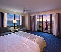 Corner room at the VA Beach Hilton.  Sept. 2011