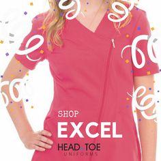 4f73e47cd56 7 Best Excel Uniforms & Scrubs images | Court attire, Drop cloths ...