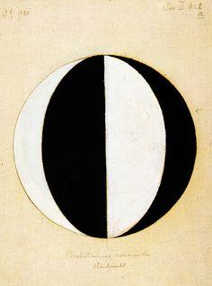 Hilma Af Klint, swiss, 1920