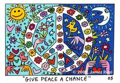 James Rizzi : Give Peace a Chance