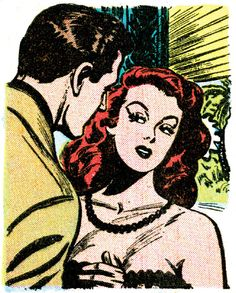 Goodbye to Illusion   Darling Love #7 (1950) art by Harry Lucey