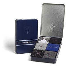 Tommy Hilfiger Calze Da Uomo Alluminio box nero/grigio 5 Paia 39-42 & 43-46 in Abbigliamento e accessori, Uomo: abbigliamento, Calze e calzini | eBay