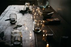 Fairy Light Table Render (Project File Included) on Behance