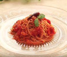 トマトジュースで簡単!冷製トマトパスタの作り方 - macaroni