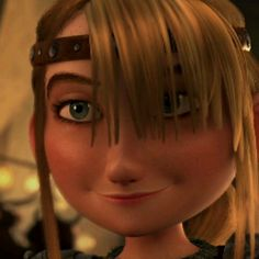 She is so me, inside and out! Astrid is basically the exact cartoon version of me. :) <3
