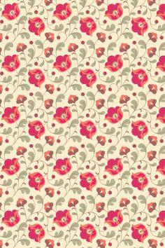 Imagen de wallpaper, flowers, and background Pretty Patterns, Beautiful Patterns, Flower Patterns, Pattern Paper, Pattern Art, Pattern Design, Motifs Textiles, Textile Patterns, Impression Textile