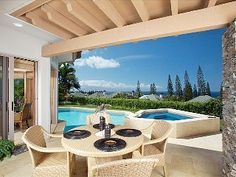 Luxurious Kapalua Oceanview Home! Outdoor Furniture Sets, Outdoor Decor, Rental Apartments, Places To Travel, Ideal Home, Condo, Patio, Vacation, Luxury