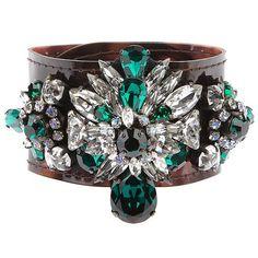 luxury vintage shining crystal flower bracelets fashion design PVC female bracelet jewelry dropshipping