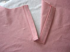 placket tutorial ...