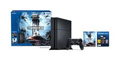 PRODUCT DETAILS : Immerse yourself in your Star Wars battle fantasies with Star Wars Battlefront on the PlayStation4. The Best Place To Play.Includes: 500 GB PlayStation 4 System, 1 DualShock [ ]