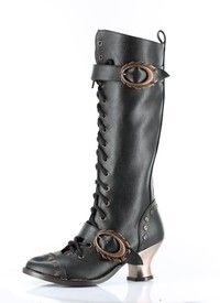 Inject some Steampunk style into your autumn and winter wardrobe with these gorgeous Victorian booti