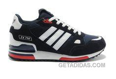 31d22f8ab Adidas Zx750 Men Dark Blue White Free Shipping