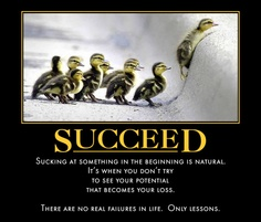 Words to live by on how to succeed.