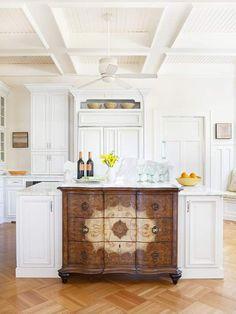 Dresser to Kitchen Island Repurpose Ideas -Refurbished Ideas