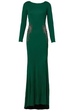 Rent Kelly Green Gown by Badgley Mischka for $125 only at Rent the Runway.