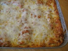 Matzo Lasagna from food.com, got rave reviews.