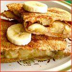Grilled Peanut Butter & Honey Sandwich Recipe - Mr Breakfast