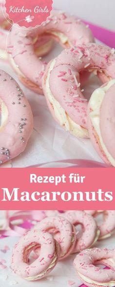 Schick für die Hochzeit und der neueste Trend für die Candy Bar: Macaronuts. Wir…