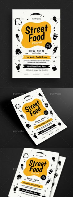 Street Food Event Flyer – But luckily, it doesn't have to … - Graphic Work Poster Sport, Poster Cars, Poster Retro, Flyer Dj, Sport Flyer, Flyer Design Inspiration, Event Flyer Templates, Brochure Template, Flyer Restaurant